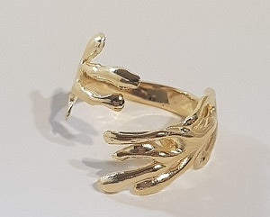 Gold-plated Silver Ring BLC