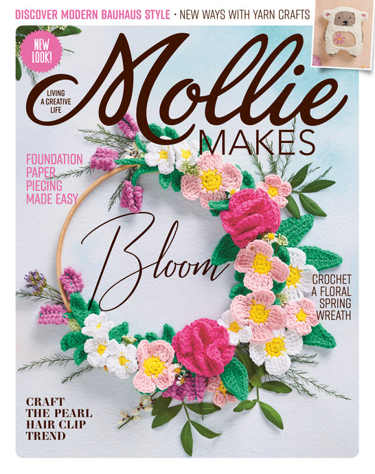 Tumble and Rose: We're in Mollie Makes magazine! (Issue 104)