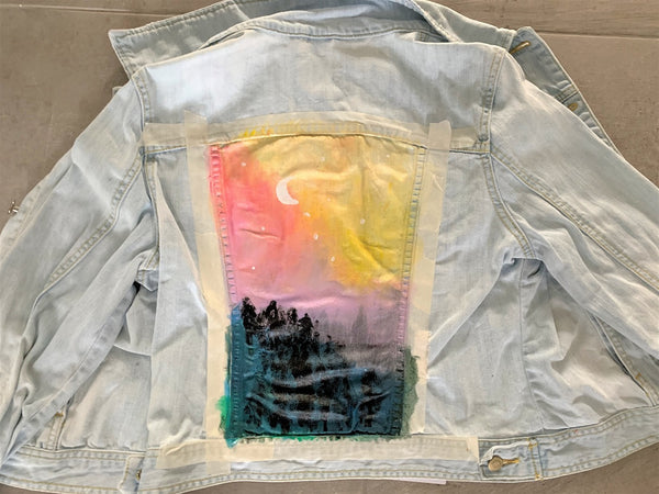 moon denim jacket