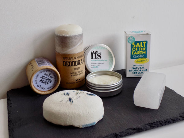 4 natural vegan deodorants