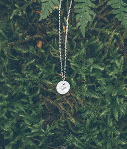 North star sterling silver necklace - Limited Edition
