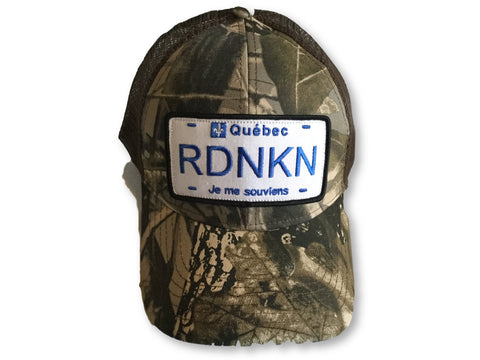 Quebec RDNKN Mesh 6 Panel low profile trucker hat - rdnkn.ca