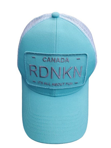 Womens Highponytail RDNKN Ballcap (Teal)