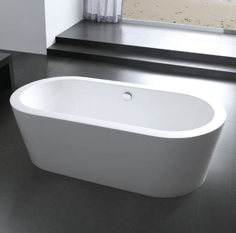 "Image of Moreno Bath Lucy 67"" Round Drop In Tub"