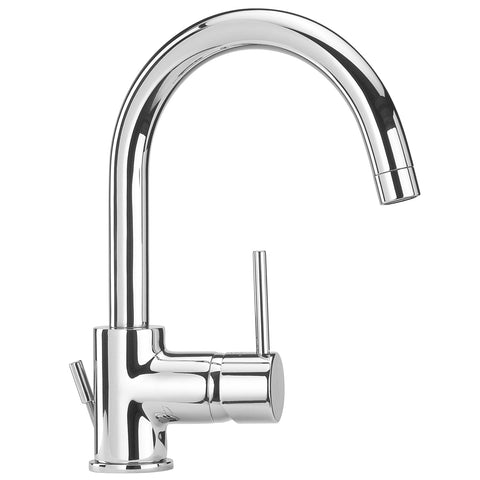 LaToscana Elba single hole lavatory faucet with two handles in Chrome