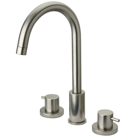 LaToscana Elba widespread lavatory faucet in Brushed Nickel