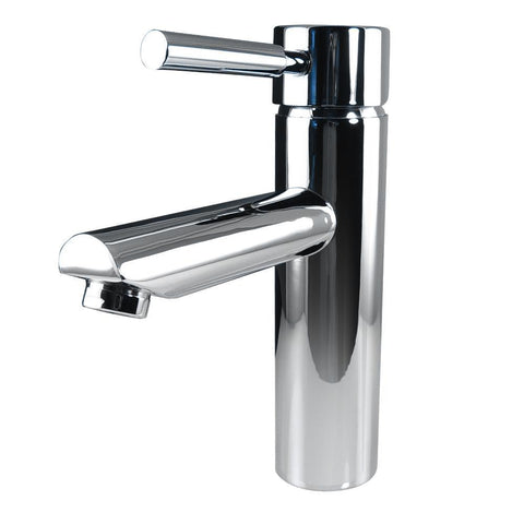 Image of Fresca Tartaro Single Hole Mount Bathroom Vanity Faucet - Chrome