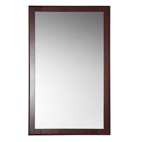 "Image of Fresca Oxford 20"" Mahogany Mirror"