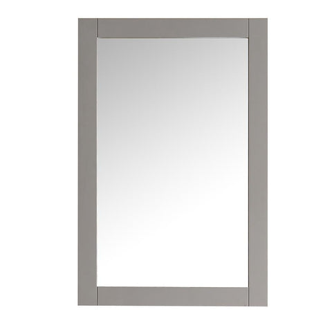"Image of Fresca Hartford 20"" Gray Traditional Bathroom Mirror"