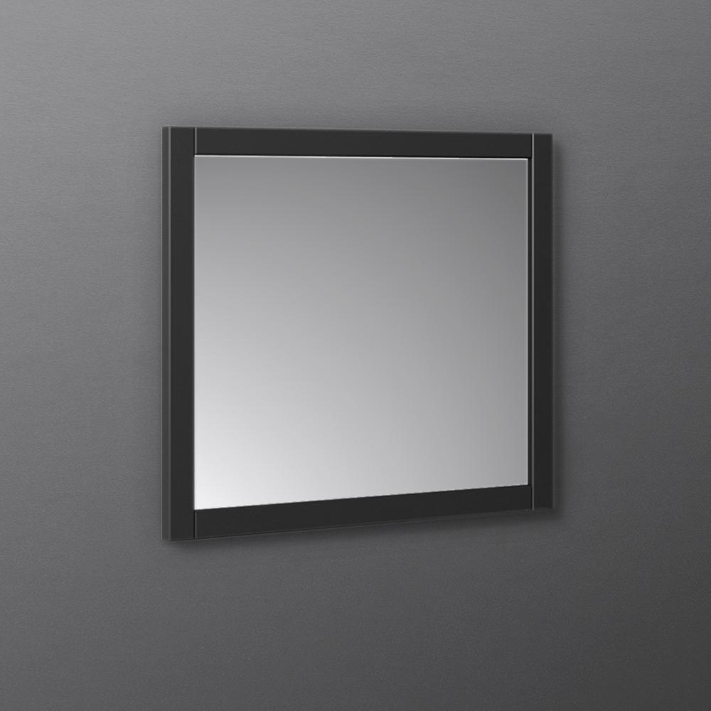 "Fresca Manchester 30"" Black Traditional Bathroom Mirror"