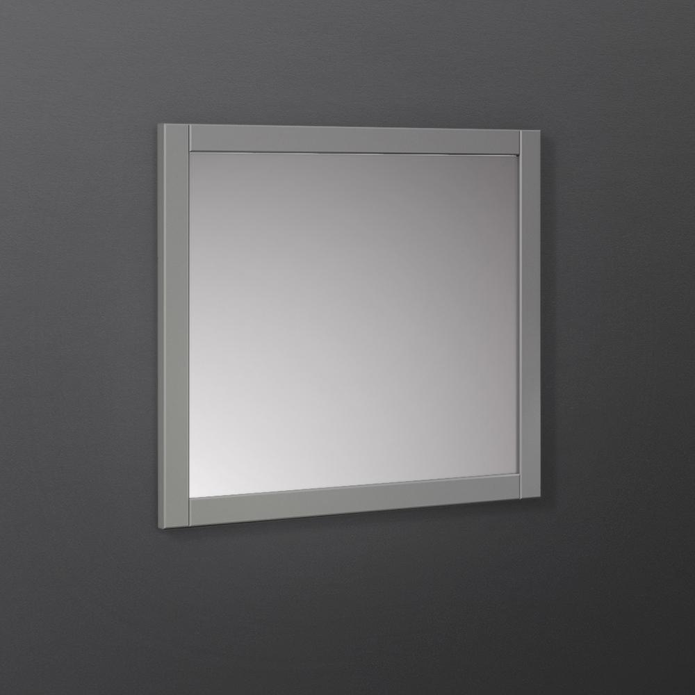 "Fresca Manchester 30"" Gray Traditional Bathroom Mirror"