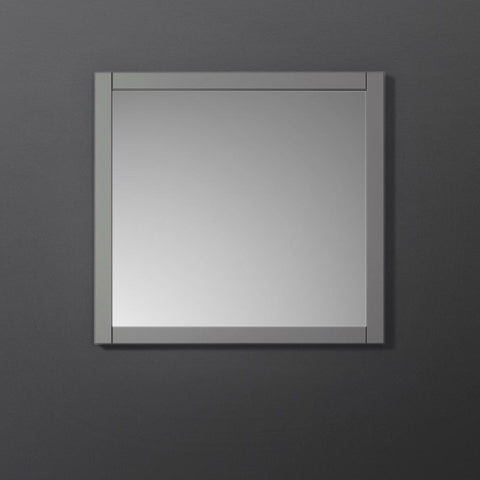 "Image of Fresca Manchester 30"" Gray Traditional Bathroom Mirror"