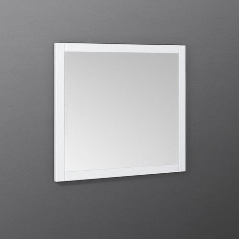 "Image of Fresca Manchester 30"" White Traditional Bathroom Mirror"