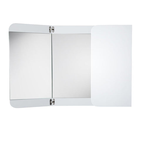 "Image of Fresca Energia 48"" White Three Panel Folding Mirror"