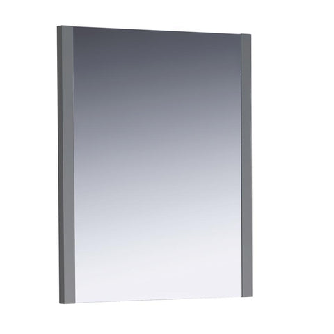"Image of Fresca Torino 26"" Gray Mirror"