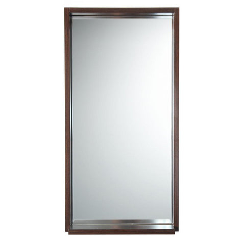 "Image of Fresca Allier 16"" Wenge Mirror with Shelf"