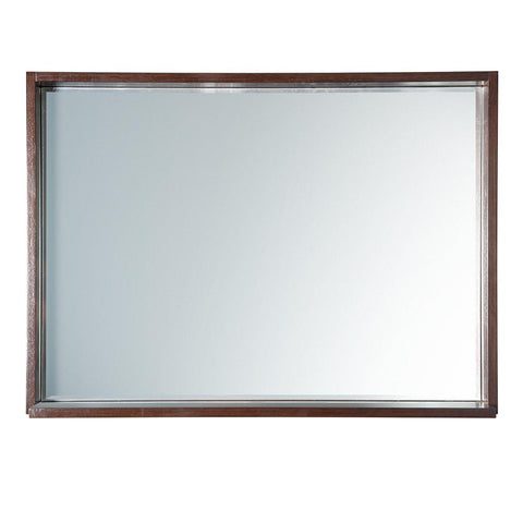 "Image of Fresca Allier 40"" Wenge Mirror with Shelf"