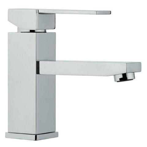Image of Moreno Bath Angeles 58.75 Inch Modern Dark Gray Oak Vanity with Reinforced Acrylic Sink