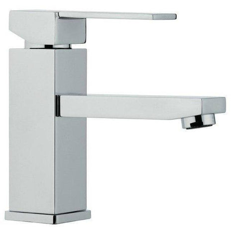 "Image of Moreno Mod 24"" High Gloss Ash Gray Modern Bathroom Vanity - Bathroom Vanity Portal"