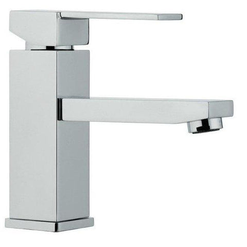 Image of Moreno Bath Louis 23.5 Inch Matte Gray Bathroom Vanity with Marble Quartz Top and Ceramic Sink