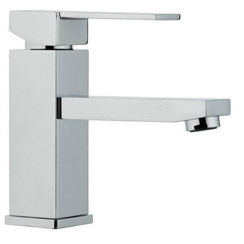 Image of Moreno Bath Angeles 23.5 Inch Dark Grey Oak Modern Vanity with Reinforced Acrylic Sink