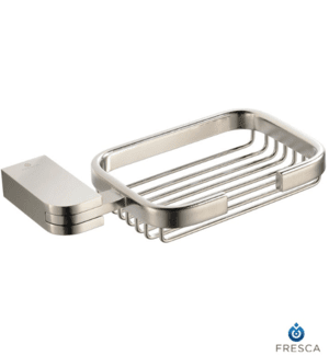 Fresca Solido Soap Basket Brushed Nickel