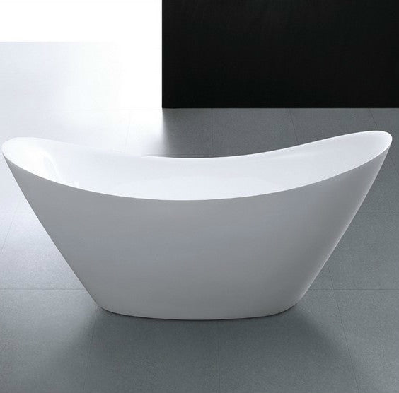 Moreno Bath Lucy 67″ Moon-Shaped Drop in Tub