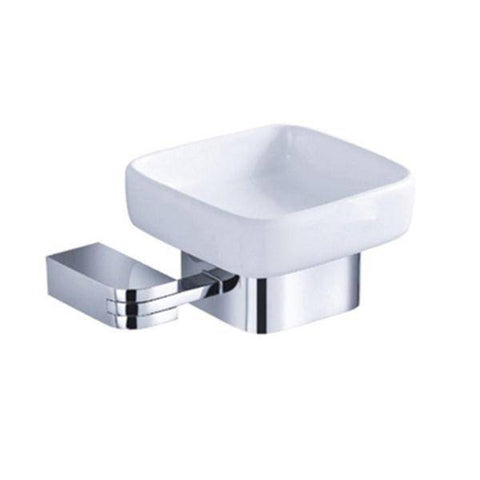 Fresca Solido Soap Dish - Chrome - Bathroom Vanity Portal
