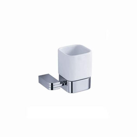 Fresca Solido Tumbler Holder - Chrome - Bathroom Vanity Portal