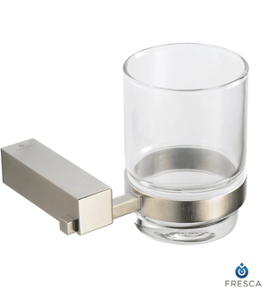 Fresca Ottimo Tumbler Holder - Brushed Nickel - Bathroom Vanity Portal