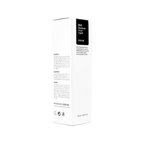 COSRX BHA Blackhead Power Liquid Box Front