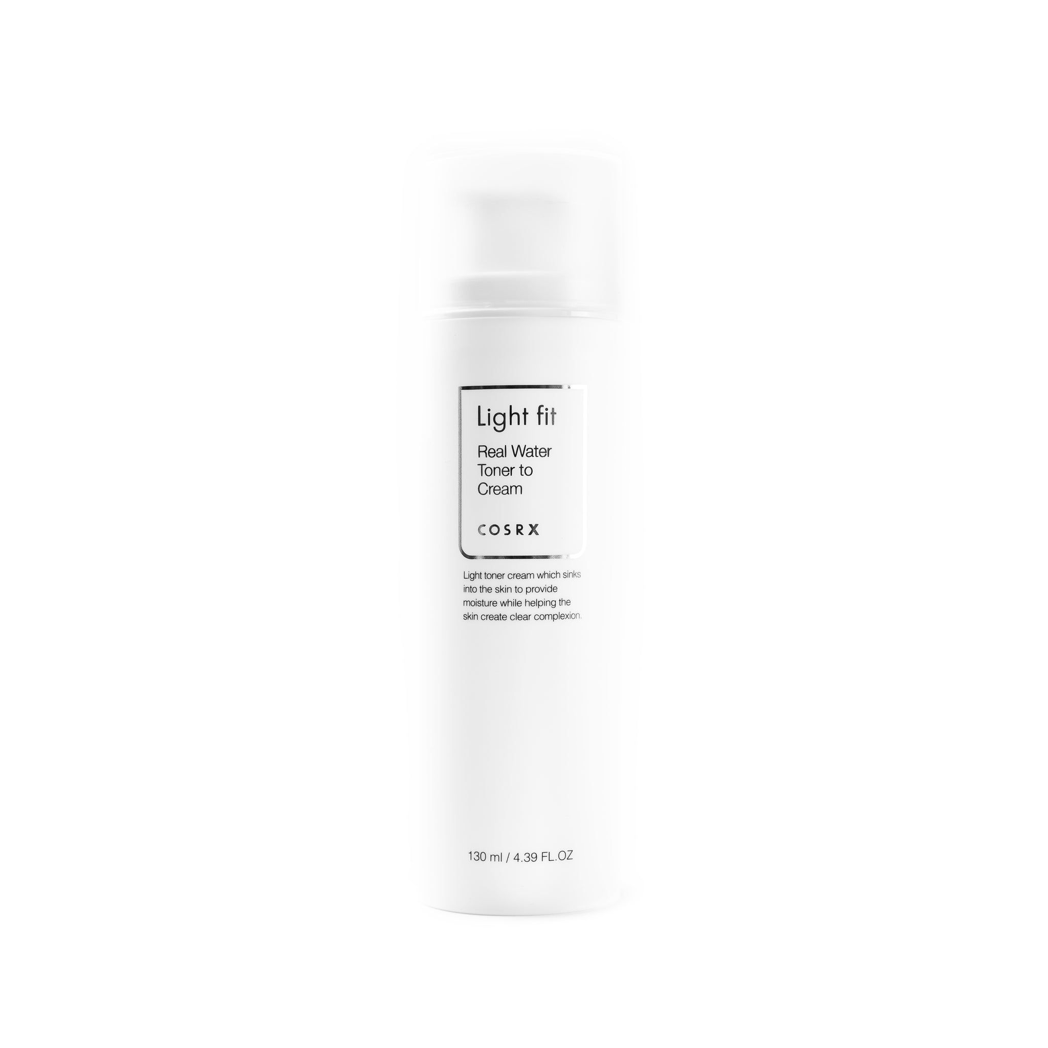 COSRX Light Fit Real Water Toner to Cream Front