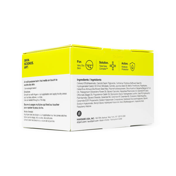 Dr Jart Ceramidin Oil Balm Box Back