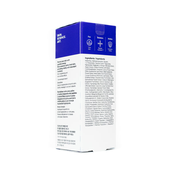 Dr Jart Peptidin Serum Blue Energy Box Back