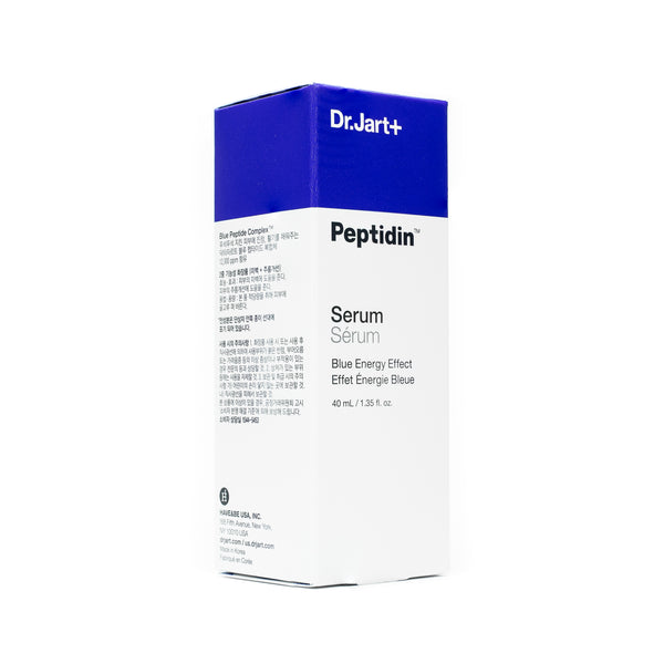 Dr Jart Peptidin Serum Blue Energy Box Front