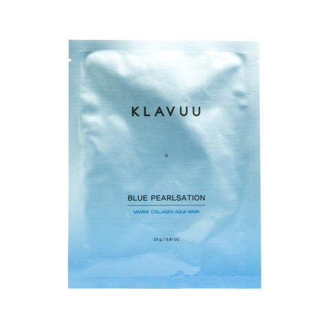KLAVUU Blue Pearlsation Marine Collagen Aqua Mask Front
