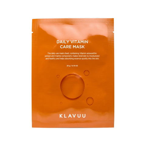 KLAVUU Daily Vitamin Care Mask Front