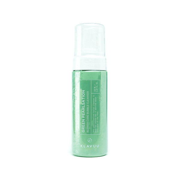 KLAVUU Green Pearlsation Blemish Care Bubble Cleanser Front