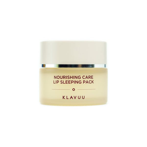 KLAVUU Nourishing Care Lip Sleeping Pack Front