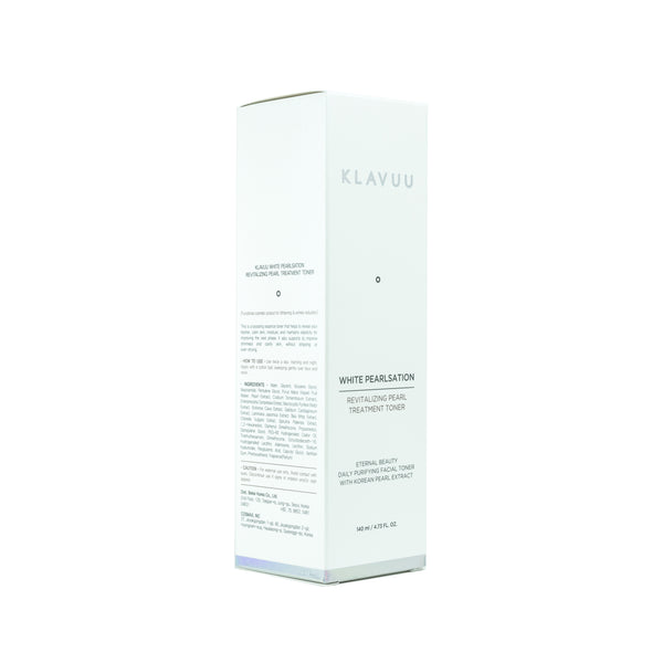 KLAVUU White Pearlsation Revitalizing Pearl Treatment Toner Box Front