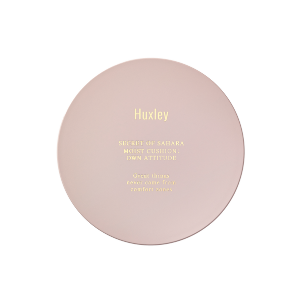 Huxley Moist Cushion ; Own Attitude