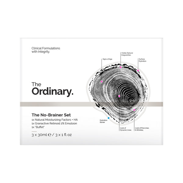 The Ordinary No Brainer Set Box Front