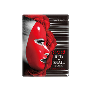 double dare OMG! Red + Snail Mask Front