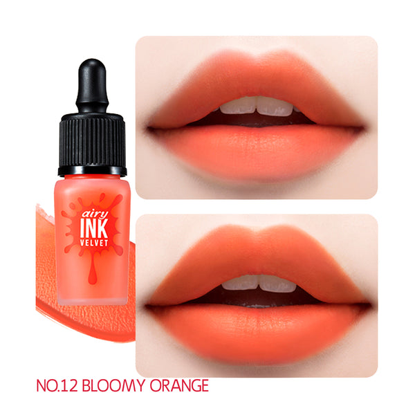 peripera Ink Airy Velvet 012 Bloomy Orange
