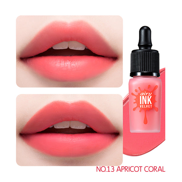 peripera Ink Airy Velvet 013 Apricot Coral