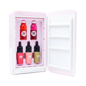 peripera Peri's Mini Fridge Pink Open