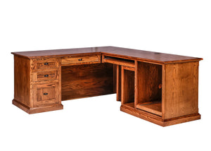 Lexington Desk and Return - Home Furniture Factory