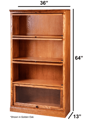 Milton Lawyer Bookcase - Home Furniture Factory