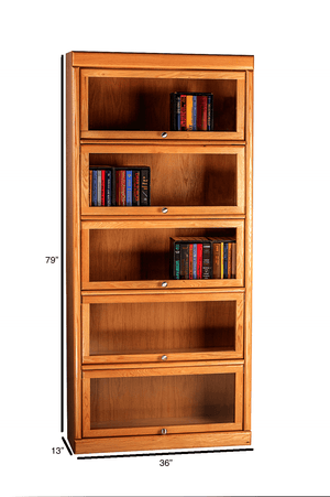 Midland Lawyer Bookcase - Home Furniture Factory