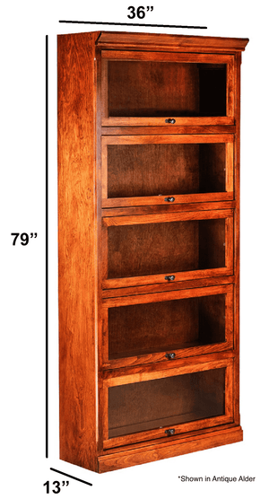 Worland Lawyer Bookcase - Home Furniture Factory